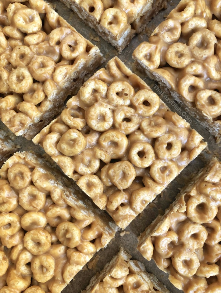 No Bake 3 Ingredient Peanut Butter Cheerio Treats