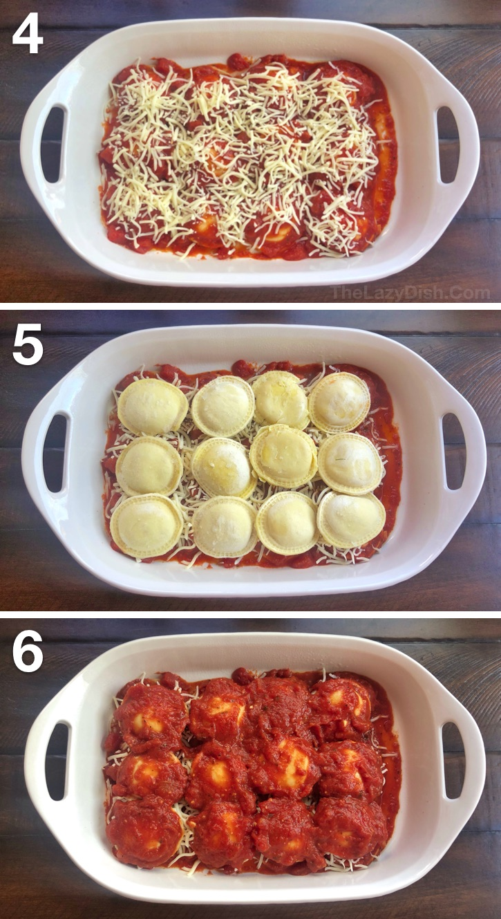 Lazy Lasagna | Super quick, easy and cheap dinner idea the entire family will love!