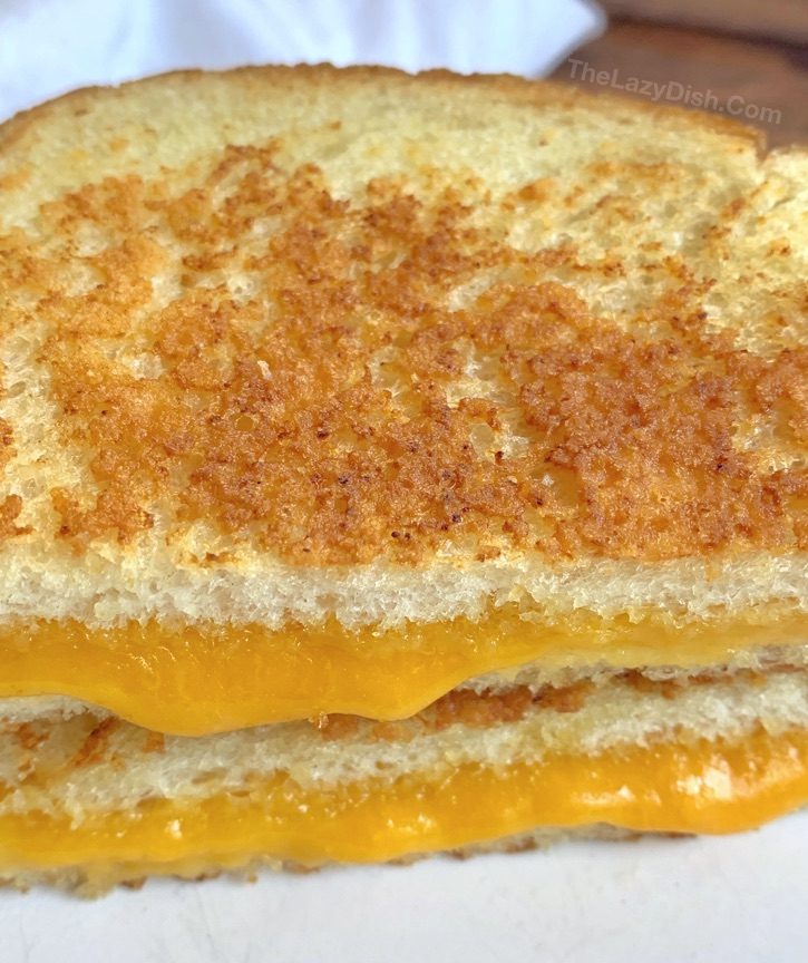 Quick and easy grilled cheese sandwich recipes, ideas and tips on how to make the best grilled cheese.