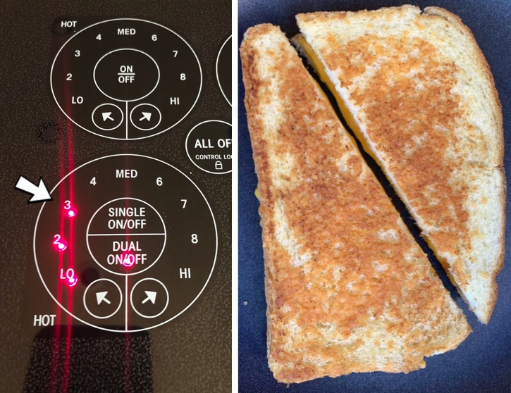 How to make a really good grilled cheese sandwich! Not soggy or burnt.