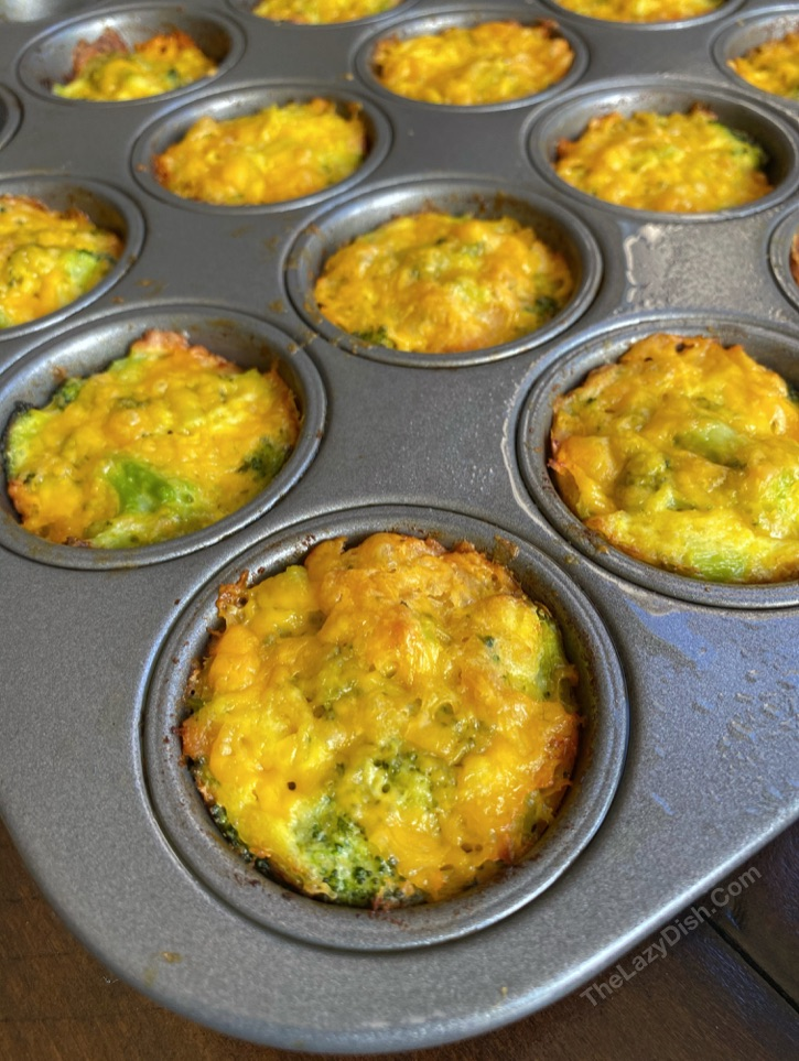Easy broccoli cheese tots made with Ritz crackers-- super fun, easy and healthy snack idea for kids.