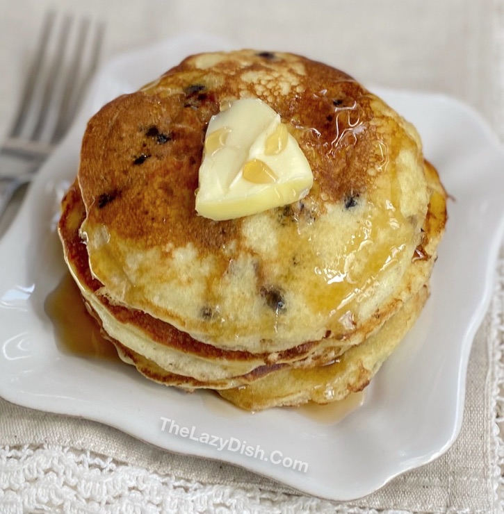 Easy Muffin Mix Pancakes